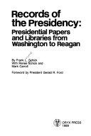 Records of the Presidency Book PDF