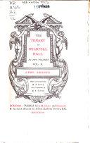 The Tenant Of Wildfell Hall Pdf/ePub eBook