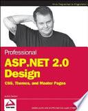 Professional ASP.NET 2.0 Design