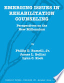 Emerging Issues In Rehabilitation Counseling