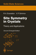 Site Symmetry in Crystals