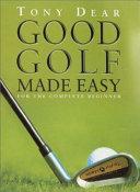 Good Golf Made Easy Book