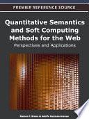 Quantitative Semantics And Soft Computing Methods For The Web Perspectives And Applications Book PDF