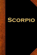 2020 Daily Planner Scorpio Zodiac Horoscope Vintage 388 Pages