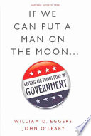 If We Can Put a Man on the Moon--