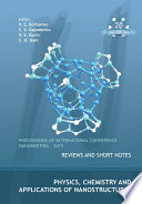 Physics  Chemistry and Applications of Nanostructures