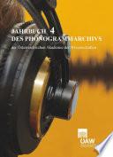 Jahrbuch des Phonogrammarchivs der Österreichischen Akademie der Wissenschaften 4