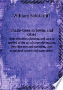 Shade trees in towns and cities