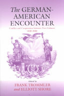Pdf The German-American Encounter