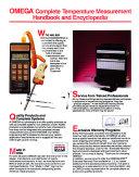 Omega Complete Temperature Measurement Handbook and Encyclopedia