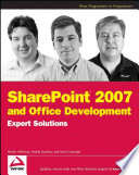 Sharepoint 2007 And Office Development Expert Solutions Book PDF