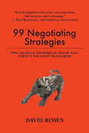 99 Negotiating Strategies