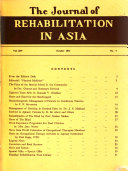 The Journal of Rehabilitation in Asia