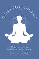 Pdf Yoga for Singing Telecharger