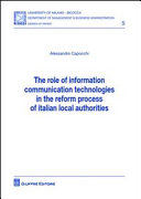 The role of information comunication technologies in the reform process of italian local authorities
