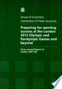 Read Online Preparing for Sporting Success at the London 2012 Olympic and Paralympic Games and Beyond For Free