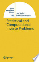 Statistical And Computational Inverse Problems Book PDF