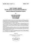 Deep Seabed Mining in the Law of the Sea Negotiation (II)