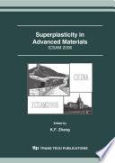 Superplasticity in Advanced Materials - ICSAM 2006