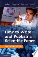 How to write and publish a scientific paper (2012)