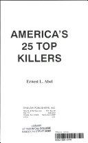 America s 25 Top Killers
