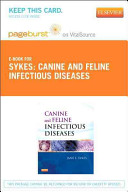 Canine and Feline Infectious Diseases - Pageburst E-Book on VitalSource (Retail Access Card)