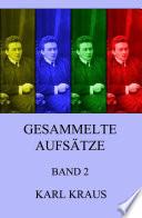 Gesammelte Aufsätze, Band 2  , Band 2