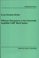 Diffusion Phenomena in the Chemically Amplified CARL Resist System ebook