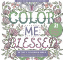 Color Me Blessed Adult Coloring Book (31 Stress-Relieving Designs)