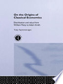 On The Origins Of Classical Economics