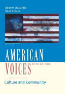 American Voices Book PDF