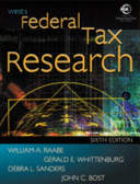 Wests Federal Tax Research Book
