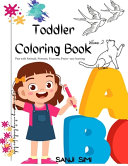 Toddler Coloring Book  Volume 2    Fun with Animals  Portraits  Unicorns  Fruits   Easy Learning Book PDF