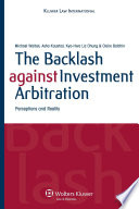 The Backlash Against Investment Arbitration Pdf/ePub eBook