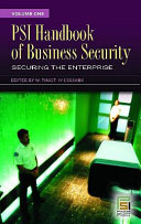 PSI Handbook of Business Security  Securing the enterprise Book