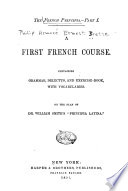 The French Principia      A first French course Book PDF