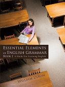 Essential Elements Of English Grammar