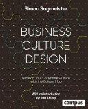 Business Culture Design (englische Ausgabe)
