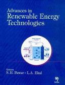 Advances in Renewable Energy Technologies Book