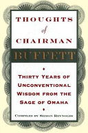 Thoughts of Chairman Buffett Book