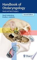 Handbook of Otolaryngology Book