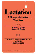 Nutrition And Biochemistry of Milk/Maintenance