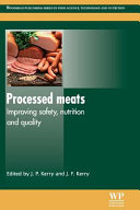 Processed Meats  Improving Safety  Nutrition and Quality