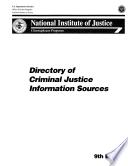 Directory of Criminal Justice Information Sources