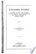 Citizenship Syllabus