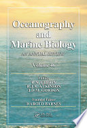 Oceanography And Marine Biology Book PDF