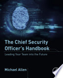 The Chief Security Officer S Handbook Book PDF