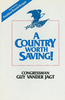 A Country Worth Saving