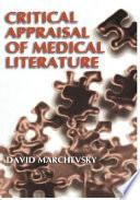 Critical Appraisal Of Medical Literature Book PDF