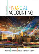 Financial Accounting, Fifth Canadian Edition,